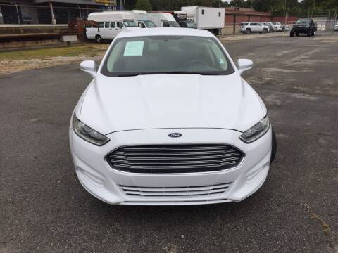 2015 Ford Fusion for sale at Beckham's Used Cars in Milledgeville GA