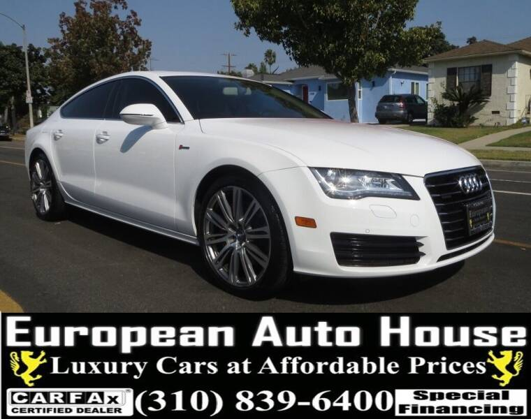 2014 Audi A7 for sale at European Auto House in Los Angeles CA