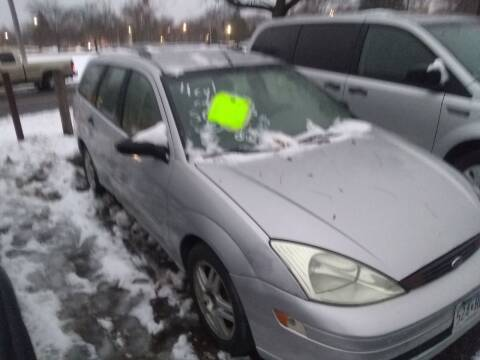2001 Ford Focus for sale at Continental Auto Sales in White Bear Lake MN