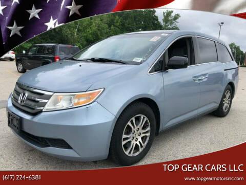 2011 Honda Odyssey for sale at Top Gear Cars LLC in Lynn MA