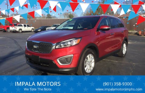 2016 Kia Sorento for sale at IMPALA MOTORS in Memphis TN