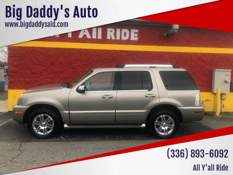 2008 Mercury Mountaineer for sale at Big Daddy's Auto in Winston-Salem NC