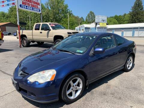 2002 Acura RSX for sale at INTERNATIONAL AUTO SALES LLC in Latrobe PA