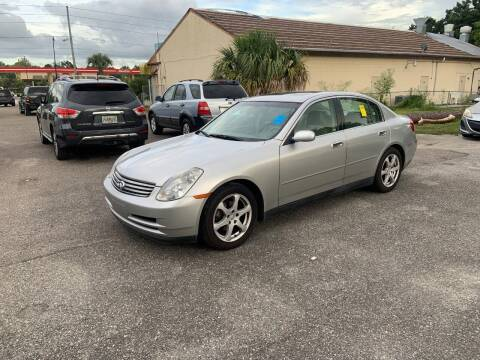2003 Infiniti G35 for sale at Sensible Choice Auto Sales, Inc. in Longwood FL
