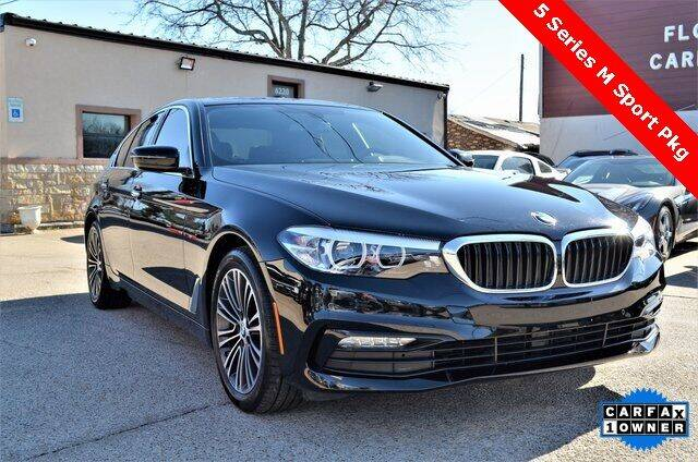 2018 BMW 5 Series for sale at LAKESIDE MOTORS, INC. in Sachse TX