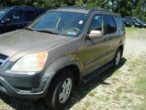 2003 Honda CR-V for sale at Branch Avenue Auto Auction in Clinton MD