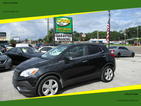 2016 Buick Encore for sale at CARS OF JAX INC. in Jacksonville FL