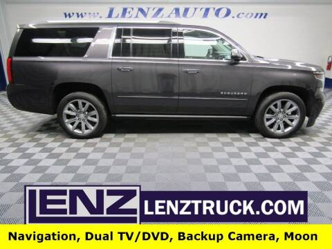 2017 Chevrolet Suburban for sale at LENZ TRUCK CENTER in Fond Du Lac WI