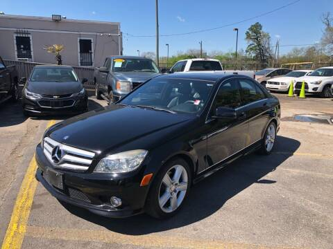 2010 Mercedes-Benz C-Class for sale at Saipan Auto Sales in Houston TX