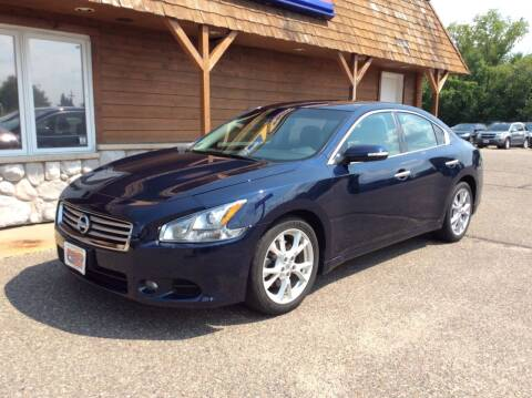 2012 Nissan Maxima for sale at MOTORS N MORE in Brainerd MN