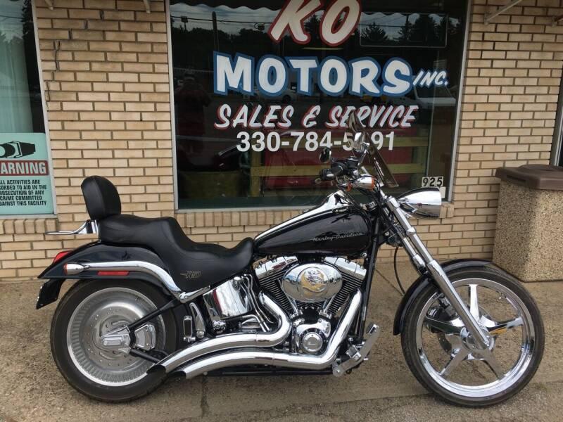 2002 Harley-Davidson FXSTDI for sale at K O Motors in Akron OH