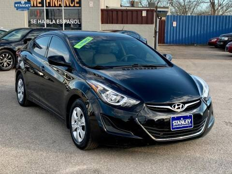 2016 Hyundai Elantra for sale at Stanley Automotive Finance Enterprise - STANLEY DIRECT AUTO in Mesquite TX