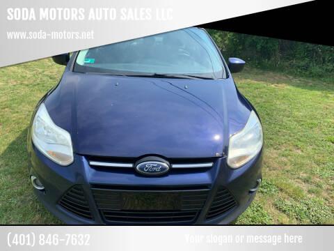 2012 Ford Focus for sale at SODA MOTORS AUTO SALES LLC in Newport RI