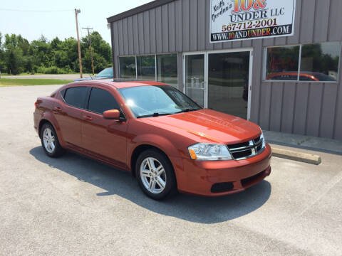2012 Dodge Avenger for sale at KEITH JORDAN'S 10 & UNDER in Lima OH