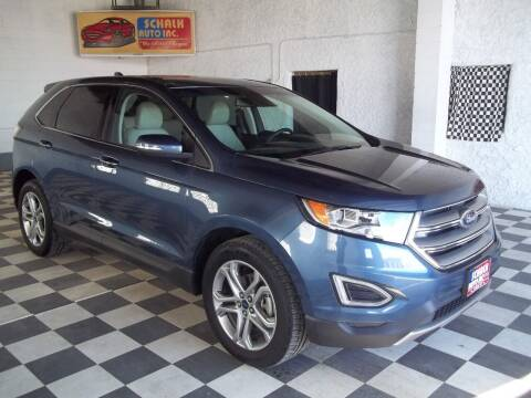 2018 Ford Edge for sale at Schalk Auto Inc in Albion NE