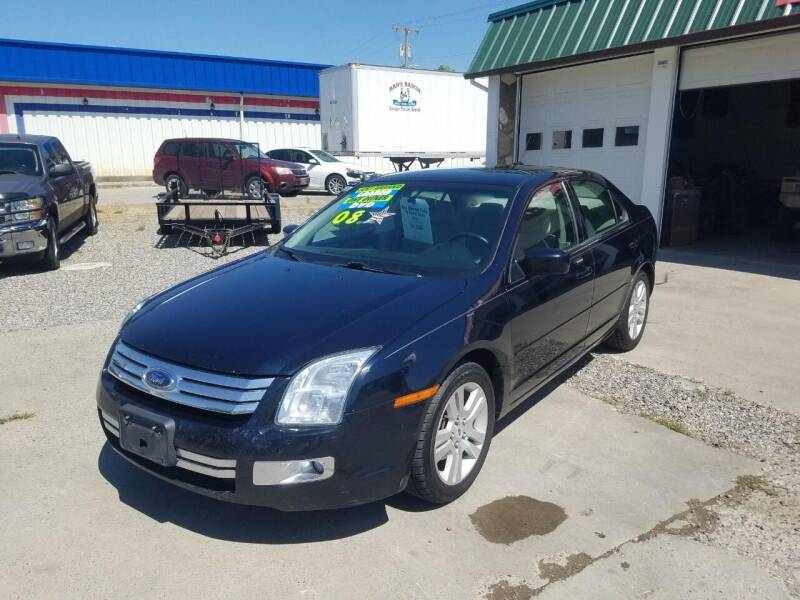 2008 Ford Fusion for sale at Bull Mountain Auto, Truck & Trailer Sales in Roundup MT