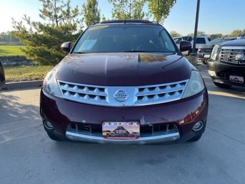 2007 Nissan Murano for sale at Azteca Auto Sales LLC in Des Moines IA
