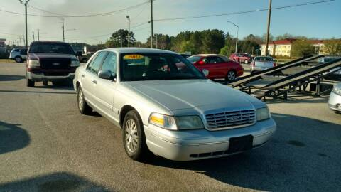 2003 Ford Crown Victoria for sale at Kelly & Kelly Supermarket of Cars in Fayetteville NC
