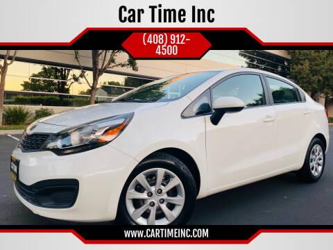 2014 Kia Rio for sale at Car Time Inc in San Jose CA