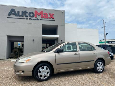 2008 Toyota Corolla for sale at AutoMax of Memphis - V Brothers in Memphis TN