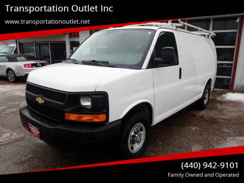 2015 Chevrolet Express Cargo for sale at Transportation Outlet Inc in Eastlake OH