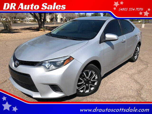 2015 Toyota Corolla for sale at DR Auto Sales in Scottsdale AZ