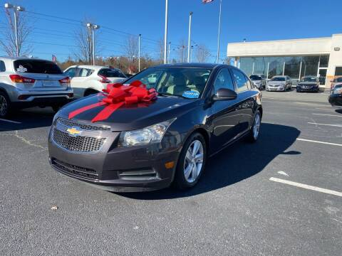 2014 Chevrolet Cruze for sale at Charlotte Auto Group, Inc in Monroe NC