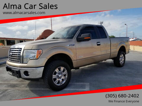2011 Ford F-150 for sale at Alma Car Sales in Miami FL