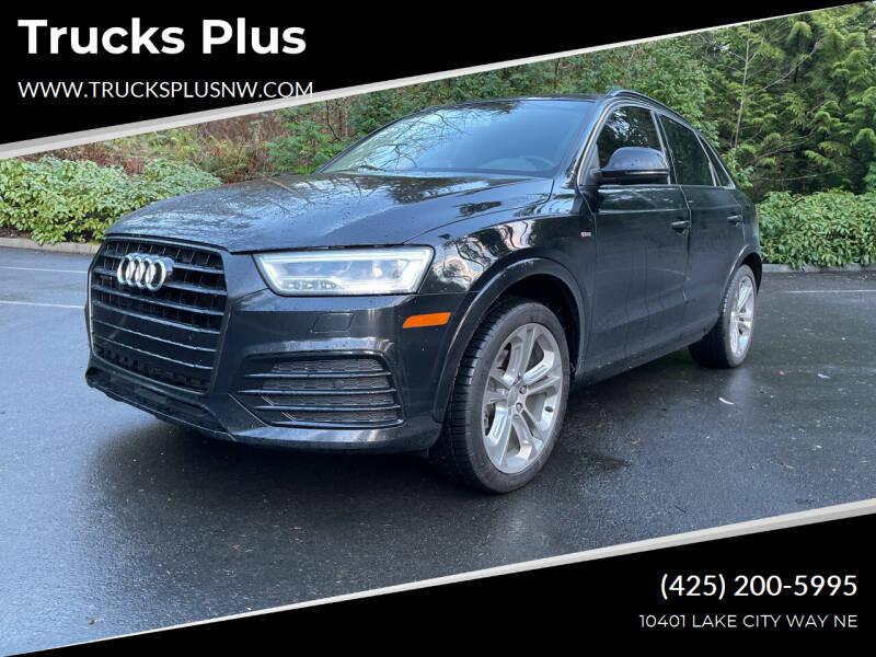 2016 Audi Q3 for sale at Trucks Plus in Seattle WA