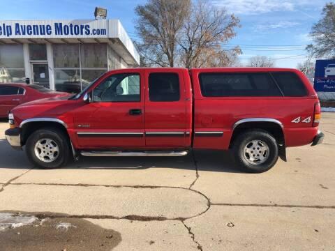 2001 Chevrolet Silverado 1500 for sale at Velp Avenue Motors LLC in Green Bay WI
