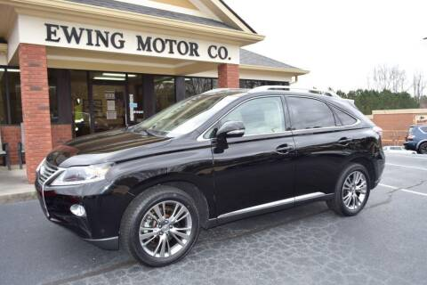 2014 Lexus RX 350 for sale at Ewing Motor Company in Buford GA