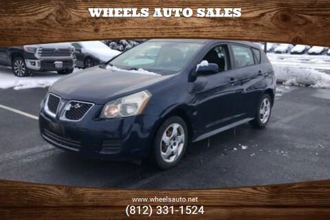 2009 Pontiac Vibe for sale at Wheels Auto Sales in Bloomington IN