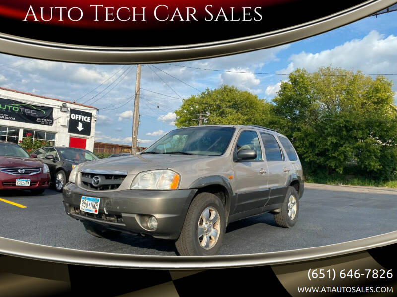 2001 Mazda Tribute for sale at Auto Tech Car Sales in Saint Paul MN