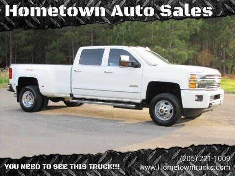 2016 Chevrolet Silverado 3500HD for sale at Hometown Auto Sales - Trucks in Jasper AL