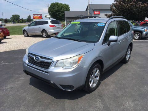 2014 Subaru Forester for sale at JACK'S AUTO SALES in Traverse City MI