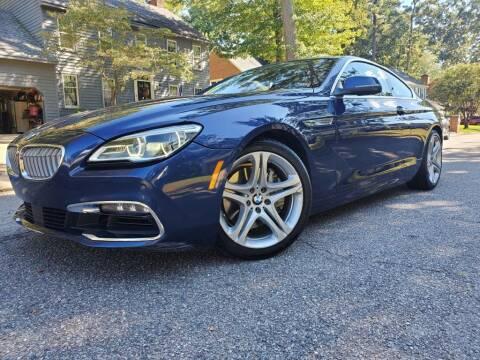2017 BMW 6 Series for sale at TM AUTO WHOLESALERS LLC in Chesapeake VA