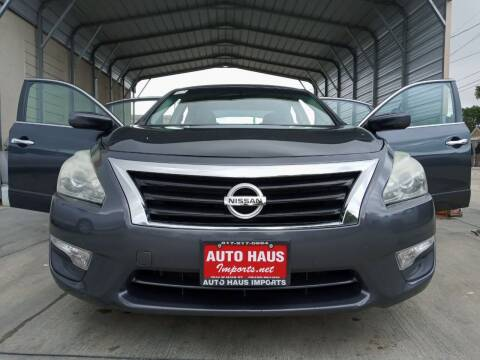 2013 Nissan Altima for sale at Auto Haus Imports in Grand Prairie TX