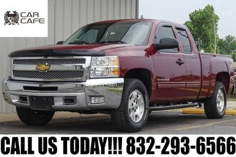 2013 Chevrolet Silverado 1500 for sale at CAR CAFE LLC in Houston TX