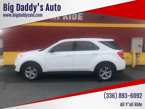 2014 Chevrolet Equinox for sale at Big Daddy's Auto in Winston-Salem NC
