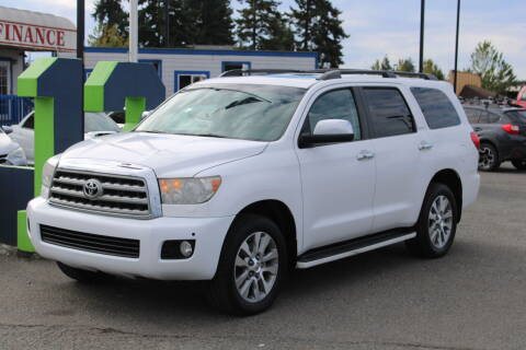 2008 Toyota Sequoia for sale at BAYSIDE AUTO SALES in Everett WA