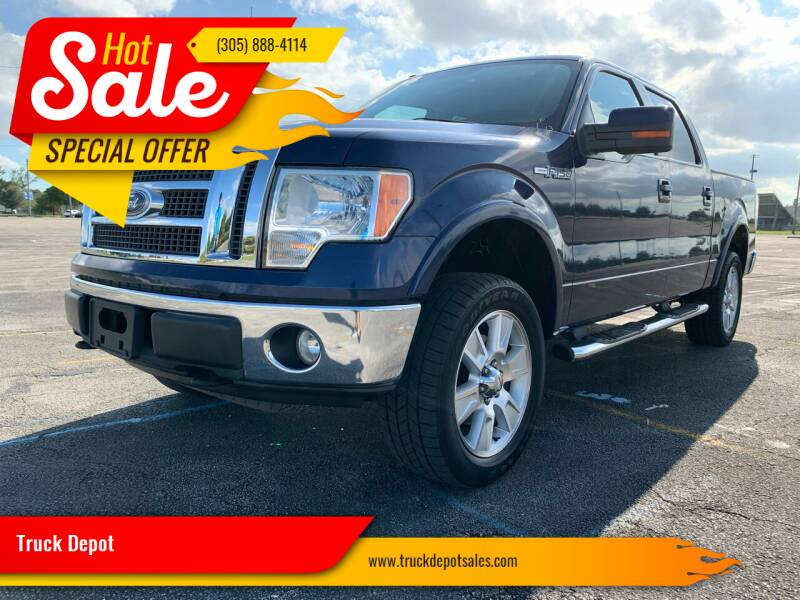 2010 Ford F-150 for sale at Truck Depot in Miami FL
