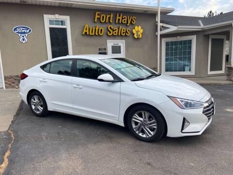 2020 Hyundai Elantra for sale at Fort Hays Auto Sales in Hays KS