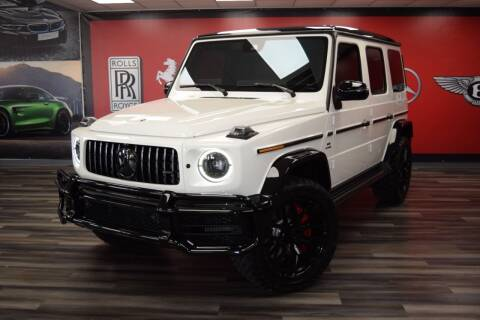 2021 Mercedes-Benz G-Class for sale at Icon Exotics in Houston TX
