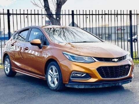 2017 Chevrolet Cruze for sale at Avanesyan Motors in Orem UT