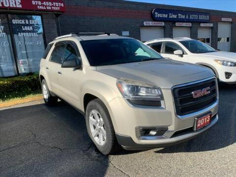 2013 GMC Acadia for sale at AutoCredit SuperStore in Lowell MA