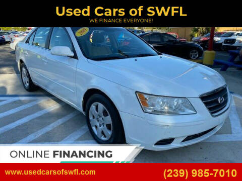 2009 Hyundai Sonata for sale at Used Cars of SWFL in Fort Myers FL