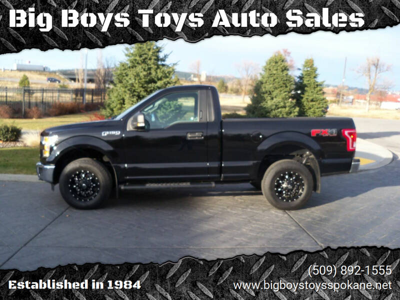 2016 Ford F-150 for sale at Big Boys Toys Auto Sales in Spokane Valley WA