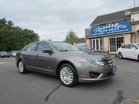 2010 Ford Fusion Hybrid for sale at Shuttles Auto Sales LLC in Hooksett NH