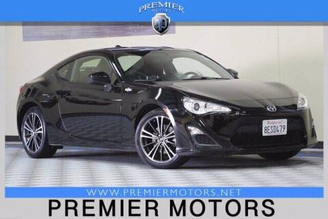 2015 Scion FR-S for sale at Premier Motors in Hayward CA