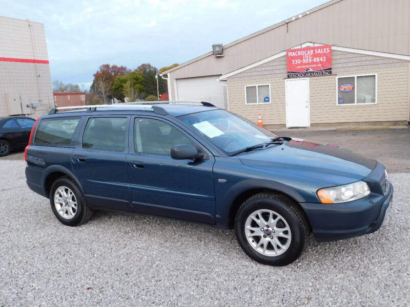 2005 Volvo XC70 for sale at Macrocar Sales Inc in Akron OH